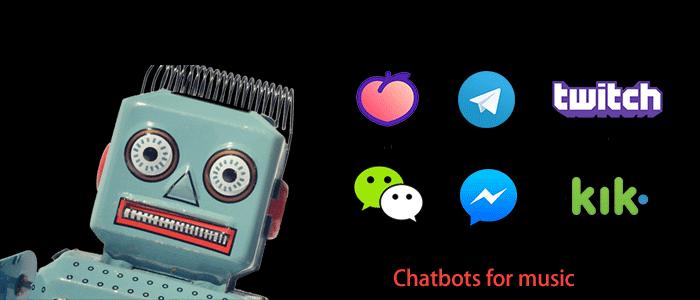 聊天机器人新增音乐识别功能